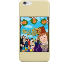 Willy Wonka and the Chocolate Factory Poster iPhone Case/Skin