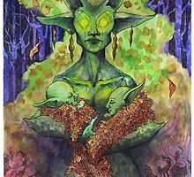 The Green Mother by LiberLibelula