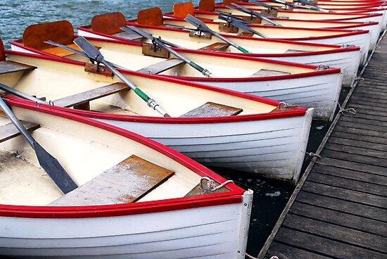 Rowboats by Elena Elisseeva