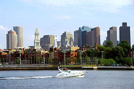 Boston skyline by Elena Elisseeva
