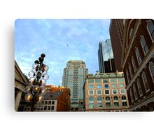 Boston downtown Canvas Print