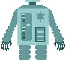 Cowboy Robot by pounddesigns