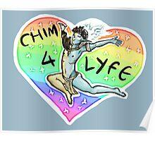 CHIM 4 LIFE - Thank u based vehk Poster