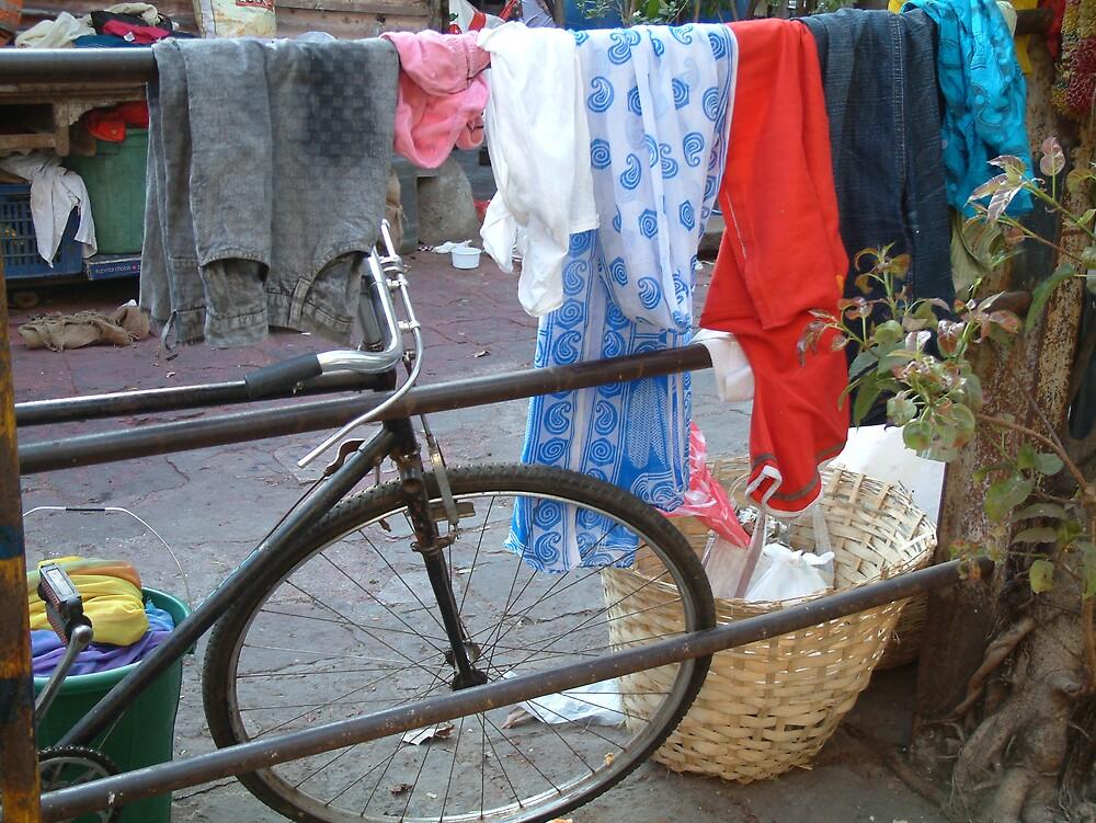 Bike in Bombay by Linda Bretherton