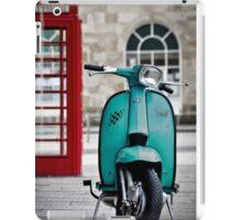 Turquoise Lambretta GP iPad Case/Skin