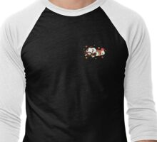 Zangief Flowers Men's Baseball ¾ T-Shirt