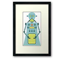 Cyborg Robot Framed Print