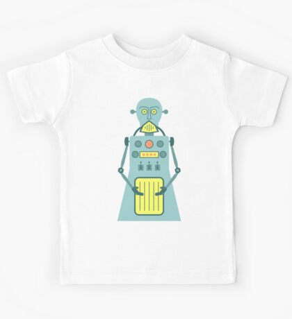 Cyborg Robot Kids Tee