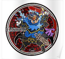 Shiny Ganoboar Poster