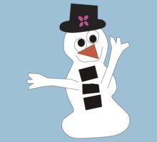 Cheery Snowman by Jeanne1957