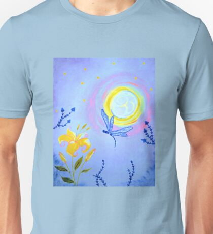 Moon Flower Unisex T-Shirt