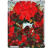 The Christmas Wreath iPad Case/Skin