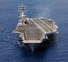 USS NIMITZ by spyonu