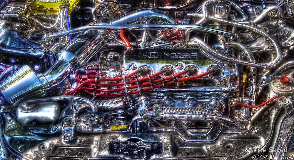 Car Intenstines by Mike  Savad