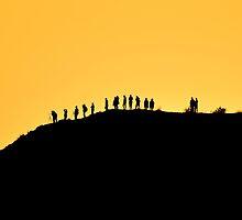 Sunrise Hill by Kasia Nowak