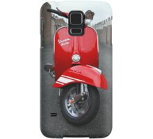 Red Vespa Rally 200 Samsung Galaxy Case/Skin