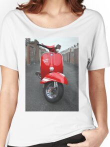 Red Vespa Rally 200 Women's Relaxed Fit T-Shirt