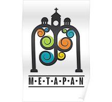 Metapán Line Poster