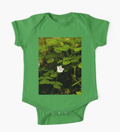 Wood Sorrel, Ness Woods, County Derry One Piece - Short Sleeve