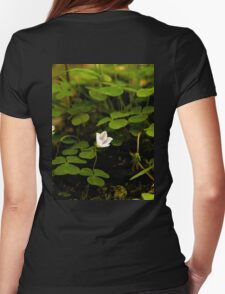 Wood Sorrel, Ness Woods, County Derry Womens Fitted T-Shirt