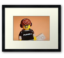 Player 1 Framed Print