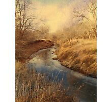 Following the Creek Photographic Print