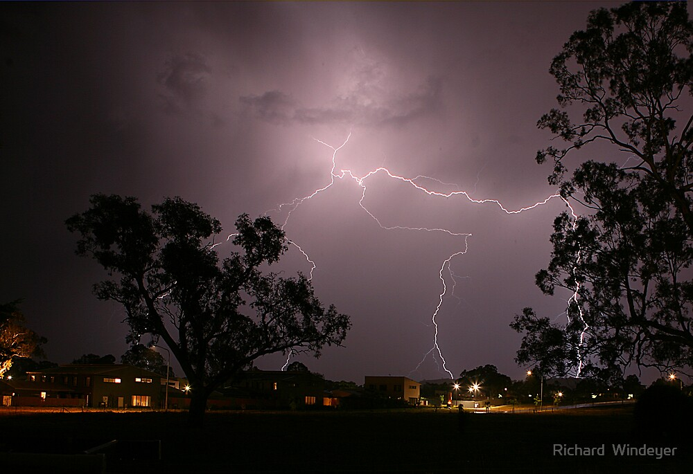 Lightning by Richard  Windeyer