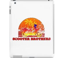 Scooter Brothers iPad Case/Skin