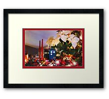 WHO's coming for Christmas? Framed Print