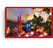 WHO's coming for Christmas? Canvas Print