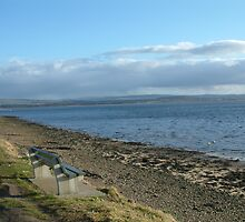 Findhorn Bay by Linda Bretherton