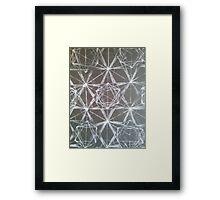 Metatron's Matrix Framed Print