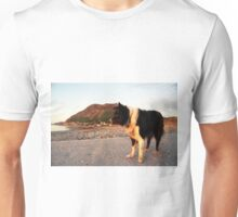 By the Beach with Indy Unisex T-Shirt