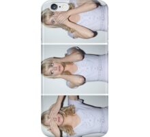 emma stone see/hear/speak no evil iPhone Case/Skin