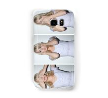emma stone see/hear/speak no evil Samsung Galaxy Case/Skin