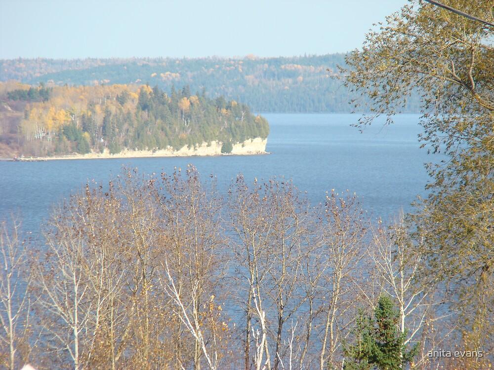 Autumn Lake Timiskaming Ontario Canada by anita evans
