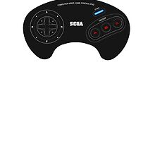 MegaDrive Pad by OppaiMaster