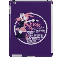 Black Rabbit Casino iPad Case/Skin