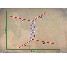Feynman Diagram Photographic Print