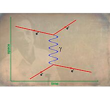 Feynman Diagram Photographic Print