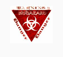 Warning BIOHAZARD red Unisex T-Shirt