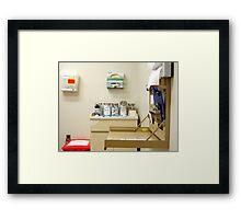 Dr. Office Framed Print