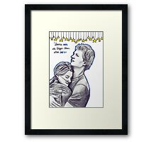 TFIOS- Infinities Framed Print