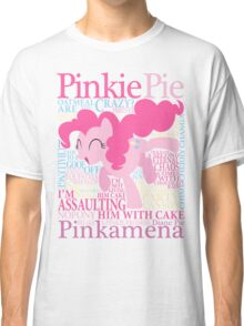 The Many Words of Pinkie Pie Classic T-Shirt