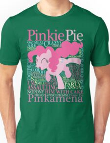 The Many Words of Pinkie Pie Unisex T-Shirt