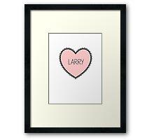 larry love Framed Print