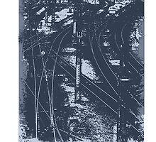 Railroad Style 2 by Sid3walk Art