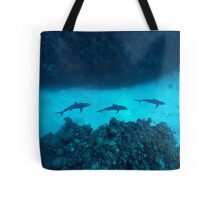 Shark Alley Tote Bag