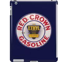 Red Crown Ethyl Gasoline iPad Case/Skin