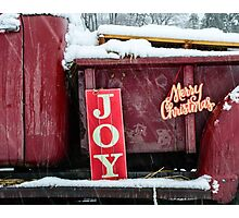 Holiday Transported Photographic Print